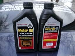 00279-1QT20 Оригинальное моторное масло Toyota 5w-20, 946мл