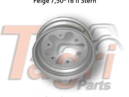 00330279 Диск колеса 7. 50-16 II форма зірочки Horsch