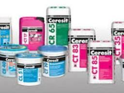 02. затірки для швів ceresit ce-40 (абрикос) еластичний водо