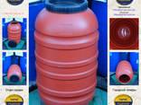 Бочка (200 л. ) б/у пищевая пластиковая ✦ Оливки - фото 1
