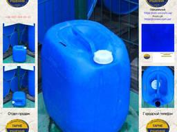 0611/7: Канистра (30 л. ) б/у пластиковая ✦ Спирт техн.