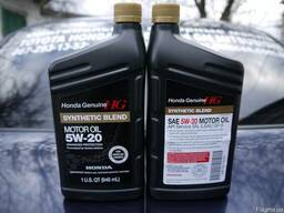 Оригинальное масло HONDA Synthetic Blend 5w-20