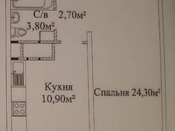 1 комнатная квартира в новом доме на Жаботинского, жк Альтаир