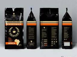 100 % арабика friedman africa, кофе в зернах