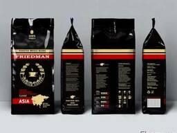 100 % арабика friedman asia, кофе в зернах