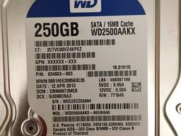 """[10шт]Hdd жёсткие диски 3. 5"""" 250gb Sata3 7200rpm для ПК"""