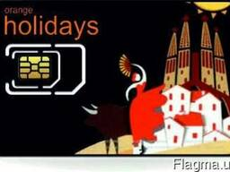 12 GB интернета в Европе -Orange Holidays