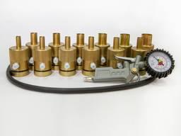 12 насадок для ремонта амортизаторных стоек. Класс Standart