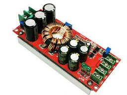 1200Вт, 20А Повышающий преобразователь с регулировкой напряжения, тока, 8-60В до12-83В