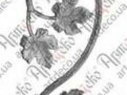 13. 202 Розетка. виноградная лоза, ветка