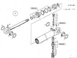 1462685 Ремкомплект гидроцилиндра O&K MH Plus