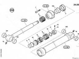 1484656 Ремкомплект гидроцилиндра рукояти O&K RH6.5