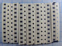 Резисторы SMD 0805 0.125вт (104 номинала)