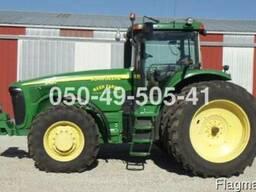 2004 г 3777 мч трактор Джон Дир John Deere 8420 из США