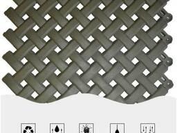 200х200х10мм Модульное напольное резиновое покрытие для...
