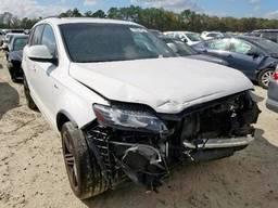 2014 Audi Q7 Prestig, 3.0L 6, 129759 км, 4dr Spor Белый