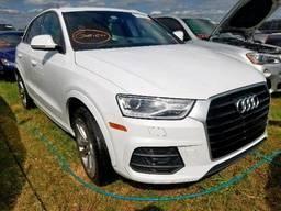 2017 Audi Q3 Premium, 2.0L 4, 58554 км, 4dr Spor Белый