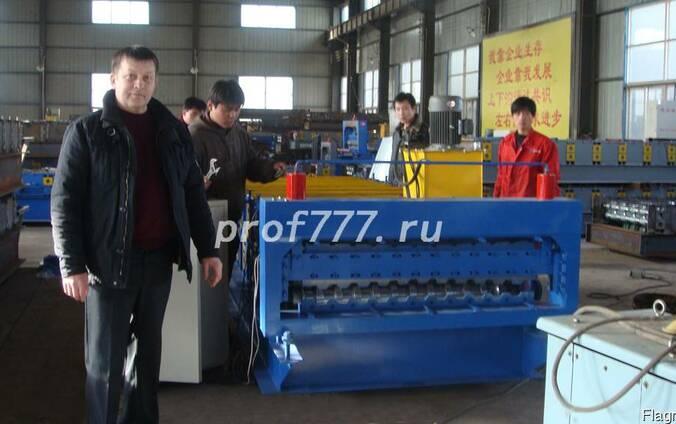 2017 Оборудование для производства профнастила C20 из Китая
