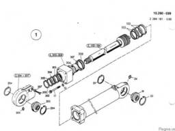 2532109 Ремкомплект гидроцилиндра отвала O&K MH Plus
