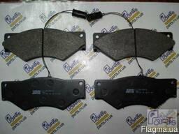 2900109561 Комплект тормозных колодок, дисковый тормоз Iveco