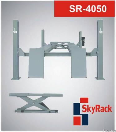 3-х тонный четырехстоечный подъемник с траверсой SR-4050
