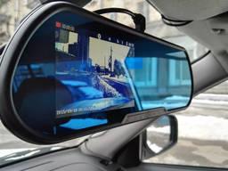 -30%! Автомобильное зеркало видеорегистратор для машины на 2 камеры!