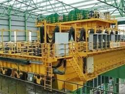 320т подвесной кран для литейного производства | Мостовой. ..