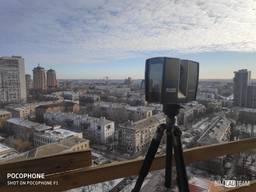 3D обмеры / лазерное сканирование зданий и помещений
