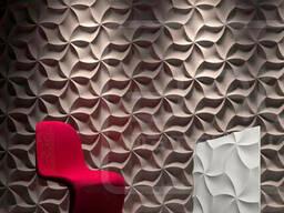 3D панель из гипса «Оригами»