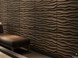 3D Панели для объемной отделки стен- рельефные 3-д стеновые