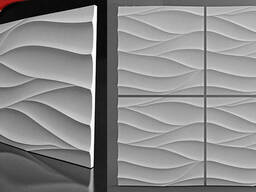 3D гипсовые панели Нежность