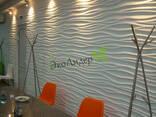 3D панели Волна гипсовые панели - фото 4