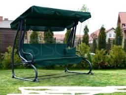 4-х местная Садовые качели диван раскладная Relax распродажа