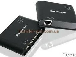 4-портовый USB 2. 0 удлинитель на 60 м по витой паре Iogear