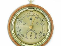 45100005 Барометр TFA с термометром, бук, 120 мм, d=105 мм