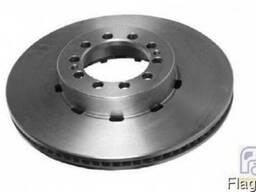 6.61007 Тормозной диск пердний Midlum
