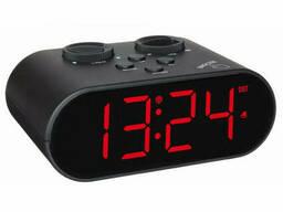 60255101 Будильник TFA Ellypse с функцией USB-зарядки, адаптер, 136x85x55 мм