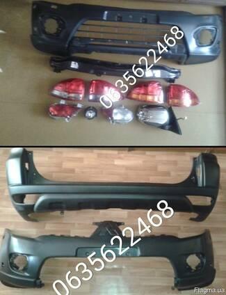 6410B195.6410B194 задний бампер Mitsubishi Pajero sport 09-