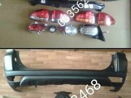 6410B195. 6410B194 задний бампер Mitsubishi Pajero sport 09-