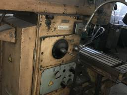 6Т80Ш широкоуниверсальный фрезерный станок 200х800 мм, станки