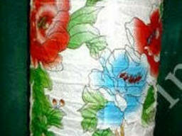 "9050007 Фонарь бумажный ""Гармошка"" Цветы + Бабочки"