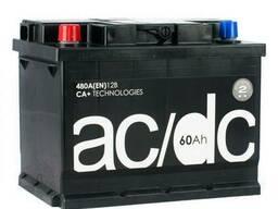 AC/DC 60 Ah 12V (левый +)