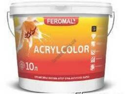 Acrylcolor внутренняя водоэмульсионная краска, База А 10л/5л
