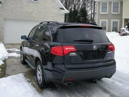 Acura mdx 2008 задний бампер