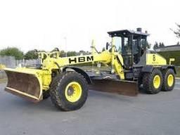 Ось 9305015 автогрейдер HBM Nobas