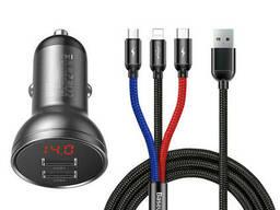 Автомобильное зарядное устройство Baseus Digital Display. ..