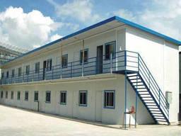 АБК из модулей, модульное здание