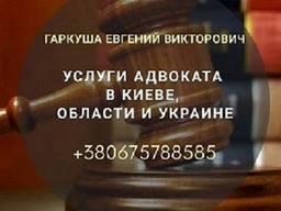 Адвокат Київ. Послуги адвоката в Києві.