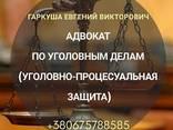 Адвокат у кримінальних справах в Києві. - фото 1