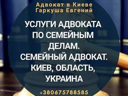 Адвокат в Києві. Сімейний адвокат.